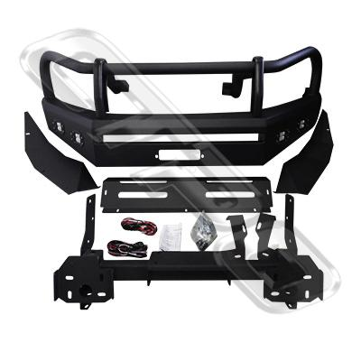 FRONT BULL BAR BUMPER - HEAVY DUTY FOR TOYOTA HILUX 2015-