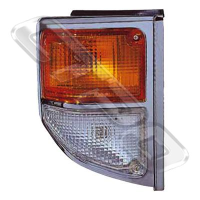 CORNER LAMP - R/H - CHROME - TO SUIT TOYOTA LANDCRUISER FJ75 2003-