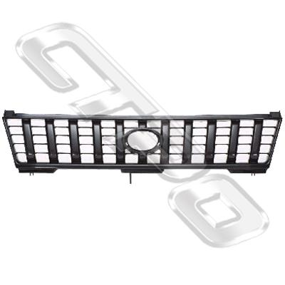 GRILLE - BLACK - TO SUIT TOYOTA PRADO J95 1996-