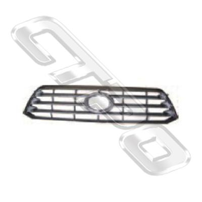 GRILLE  - TO SUIT TOYOTA HIGHLANDER/KLUGER 2008-2010