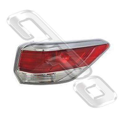 REAR LAMP - R/H - OUTER - TO SUIT TOYOTA HIGHLANDER/KLUGER 2014-