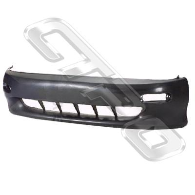 FRONT BUMPER - BLACK - NOT TURBO - TO SUIT TOYOTA CELICA ST183 1990-91