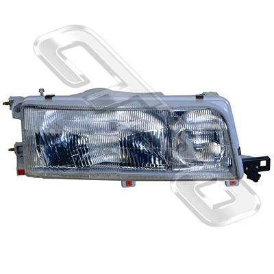 HEADLAMP - L/H - W/E - TO SUIT TOYOTA CAMRY 1990-91