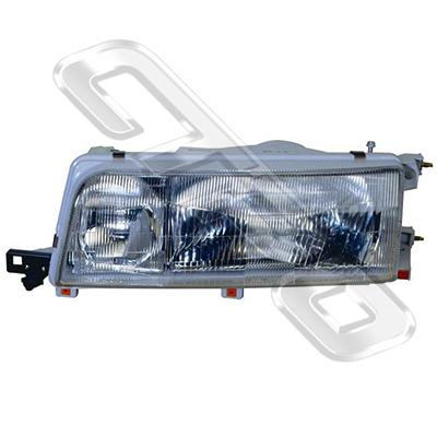 HEADLAMP - R/H - W/E - TO SUIT TOYOTA CAMRY 1990-91