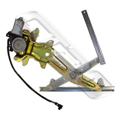 WINDOW REGULATOR - REAR W/MOTOR - R/H - TO SUIT TOYOTA CAMRY SXV20 1997-01  NZ+AUST