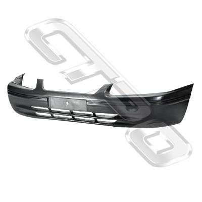 FRONT BUMPER - BLACK W/O MOULD - TO SUIT TOYOTA CAMRY SXV20 1997-99  NZ+AUST
