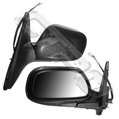 DOOR MIRROR - L/H - ELECTRIC - 3PIN - TO SUIT TOYOTA CAMRY - ACV30 - 2001-