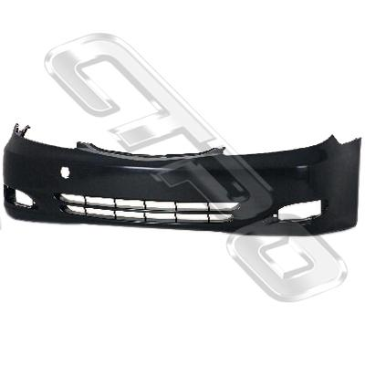 FRONT BUMPER - MAT BLACK - TO SUIT TOYOTA CAMRY CV36 2002-