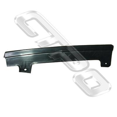 HEADLAMP - MOULDING - L/H - LOWER - TO SUIT TOYOTA COROLLA AE82 1986-87