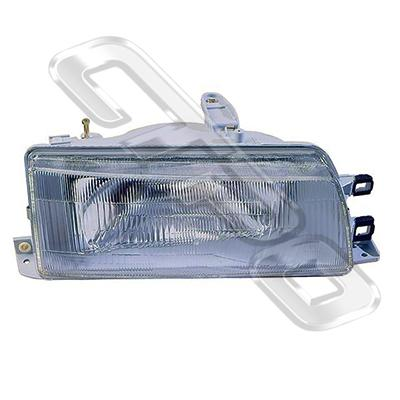 HEADLAMP - R/H - TO SUIT TOYOTA COROLLA EE90 SDN 1988-