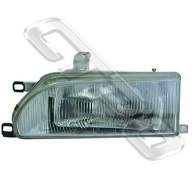 HEADLAMP - L/H - W/E MARK - TO SUIT TOYOTA COROLLA FXGT 1988-92
