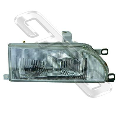 HEADLAMP - R/H - W/E MARK - TO SUIT TOYOTA COROLLA FXGT 1988-92