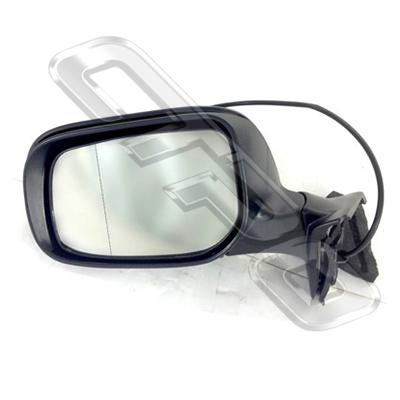 DOOR MIRROR - L/H - ELECTRIC - 3 WIRE - TO SUIT TOYOTA COROLLA 2007- H/BACK