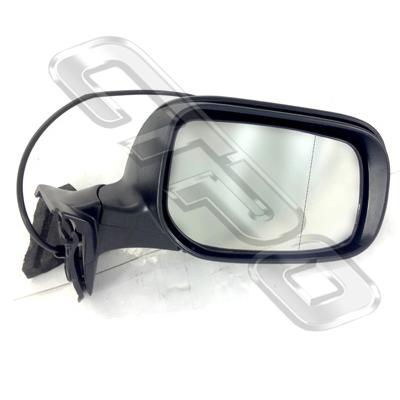 DOOR MIRROR - R/H - ELECTRIC - 3 WIRE - TO SUIT TOYOTA COROLLA 2007- H/BACK