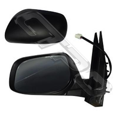 DOOR MIRROR - L/H - ELECTRIC - 5 WIRE - NON REPEATER - TO SUIT TOYOTA COROLLA/FIELDER 2007-10  WAGON