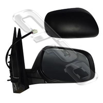 DOOR MIRROR - R/H - ELECTRIC - 5 WIRE - NON REPEATER - TO SUIT TOYOTA COROLLA/FIELDER 2007-10  WAGON