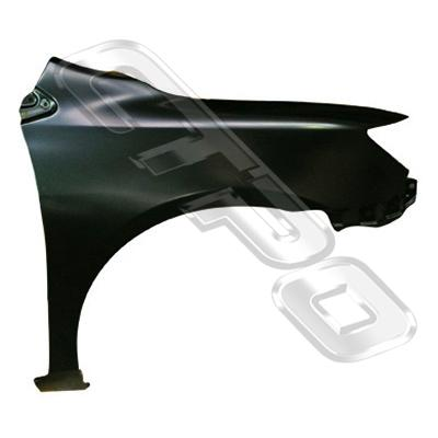 FRONT GUARD - R/H - W/O SLP & MLDG HOLE - TO SUIT TOYOTA COROLLA 2007- WAGON