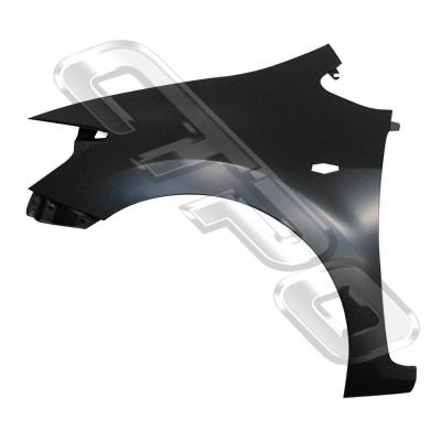 FRONT GUARD - L/H - WITH SIDE LAMP HOLE - TO SUIT TOYOTA COROLLA 2007- HATCHBACK