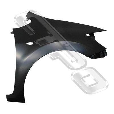 FRONT GUARD - R/H - WITH SIDE LAMP HOLE - TO SUIT TOYOTA COROLLA 2007- HATCHBACK