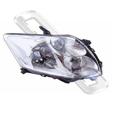 HEADLAMP - R/H - TO SUIT TOYOTA COROLLA 2007-  H/BACK