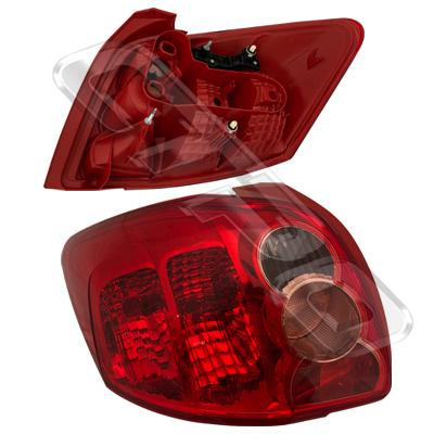 REAR LAMP - L/H - TO SUIT TOYOTA COROLLA 2007-  H/BACK