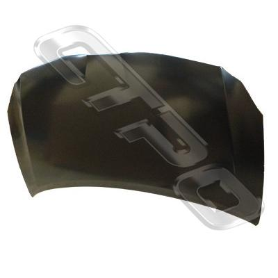 BONNET - TO SUIT TOYOTA COROLLA 2010-  H/BACK