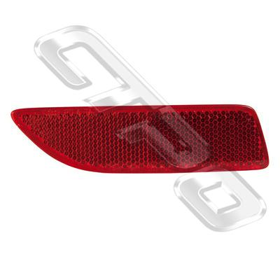 REAR LAMP - R/H - REFLECTOR GOES IN BUMPER - TO SUIT TOYOTA COROLLA 2011- SEDAN  F/LIFT