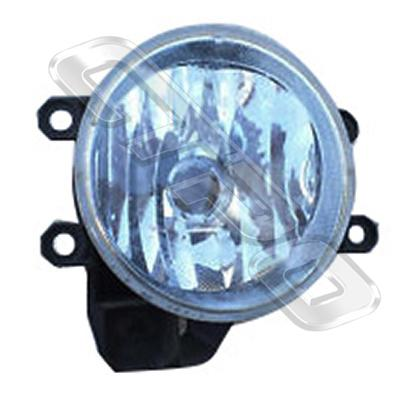 FOG LAMP - L/H - TO SUIT TOYOTA COROLLA 2012-