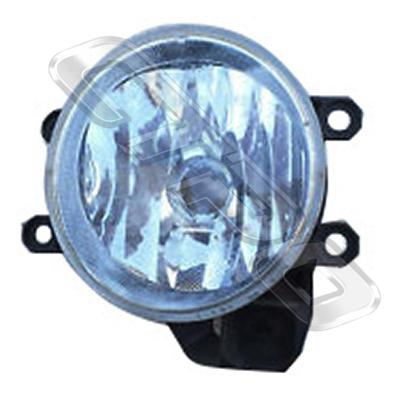 FOG LAMP - R/H - TO SUIT TOYOTA COROLLA 2012-