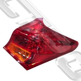 REAR LAMP - R/H - OUTER - TO SUIT TOYOTA COROLLA 2012- HATCH