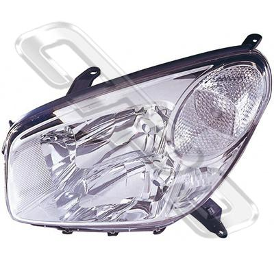 HEADLAMP - L/H - CERTIFIED NSF AU/NZ - TOYOTA RAV4 ACA20 2003-  F/LIFT