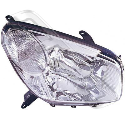 HEADLAMP - R/H - CERTIFIED NSF AU/NZ - TOYOTA RAV4 ACA20 2003-  F/LIFT