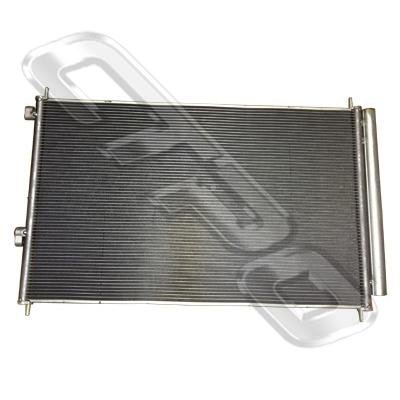 AIR COND - CONDENSER - PFC - W/SUBCOOL - W/5MM - TO SUIT TOYOTA RAV4 ACA30 2006-