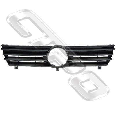GRILLE - BLACK - TO SUIT VW POLO MK4 2000-01