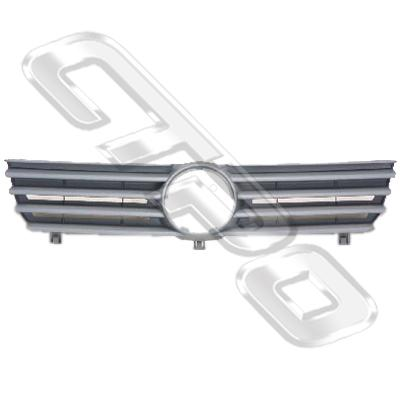 GRILLE - GREY - TO SUIT VW POLO MK4 2000-01