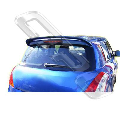SPOILER - WITHOUT LED LIGHT FOR SUZUKI SWIFT 2012-