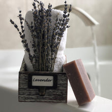 Load image into Gallery viewer, Lavender Bar Soap Organic