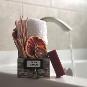 Blood Orange Bergamot Bar Soap Organic