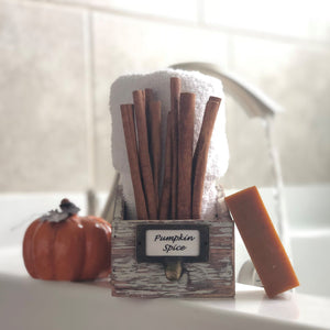 Pumpkin Spice Bar Soap Organic