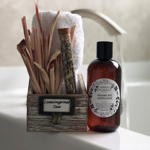 Lemongrass Tea Organic Castile Soap
