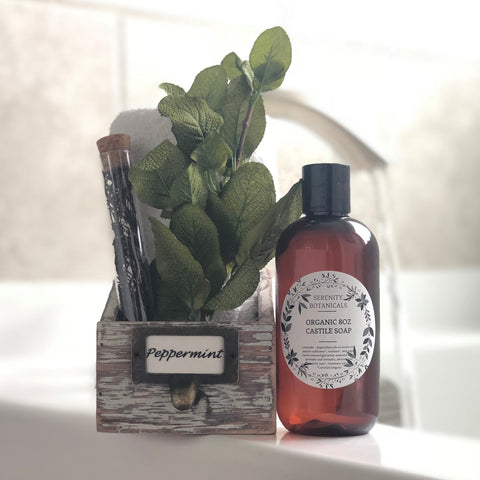 Peppermint Leaf Organic Castile Soap