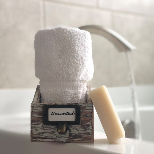Sensitive Unscented Bar Soap Organic