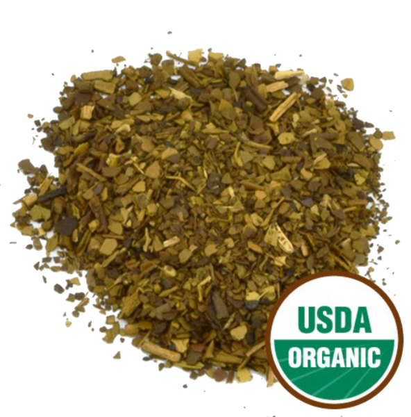 Yerba Mate Leaf Roasted Organic C/S