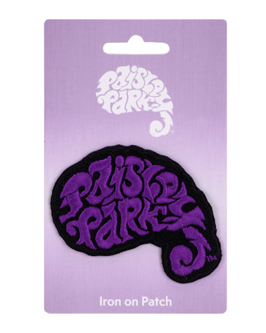 Paisley Park Logo Sculptural Iron-On Patch