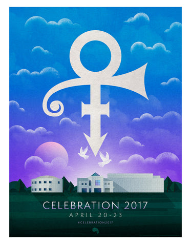 "Celebration 2017 Limited Edition 18"" X 24"" Event Poster (PICKUP ONLY)"