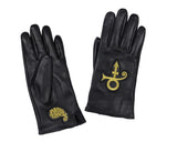 Paisley Park Love Symbol Leather Gloves