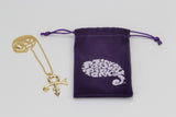 Paisley Park - Jewelry - Prince Love Symbol 18k Gold Plated Necklace (Chain)