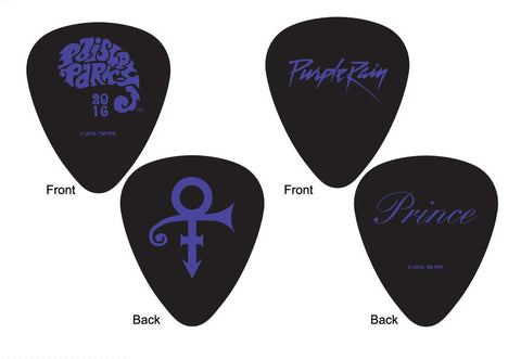 Paisley Park - Giftware - Guitar Pick Complete Set of 6 (Medium Gauge 6-Pack)