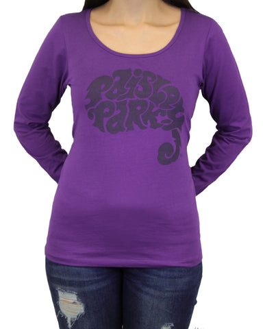 Women's Paisley Park Long Sleeve Scoop Neck