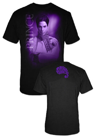 Paisley Park - Apparel - Prince Purple Portrait T-Shirt